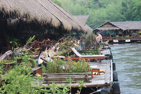 The Jungle River Rafts accommodation (Image: Tom Grapes)
