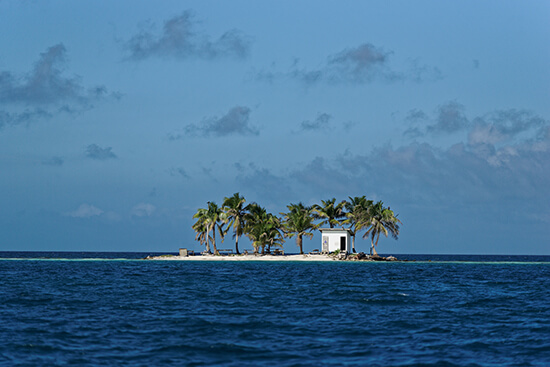Toilet island, Belize (Image: Tomas Mahring/Lonely Planet)