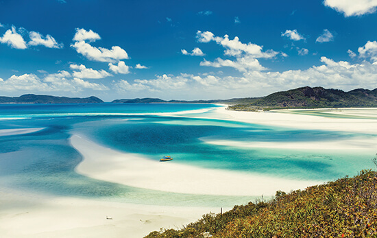 Whitehaven Beach – one of Michelle