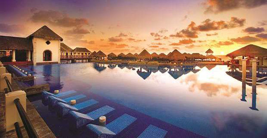 Sit back, relax and enjoy all-inclusive bliss at the 5* Now Sapphie Riviera Cancun