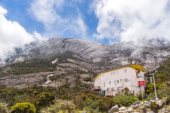 Laban Rata mountain lodge (Image: Ross Jennings)