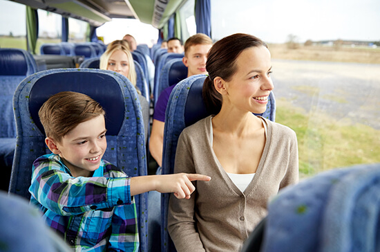 Let someone else organise your bus tours and excursions