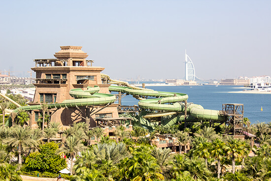Go somewhere that your kids can boast about - like one of Dubai