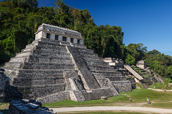 The Temple of the Inscriptions at Palenque