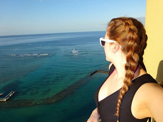 Erica in Oahu