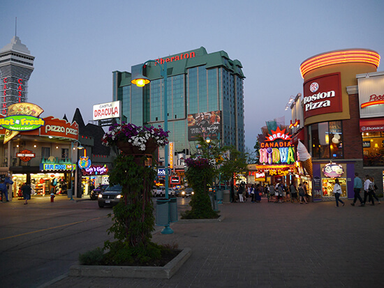 Clifton Hill by night (image: Alexandra Gregg)