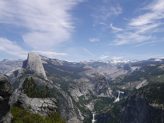 View from Glacier Point (Image: Alexandra Gregg)