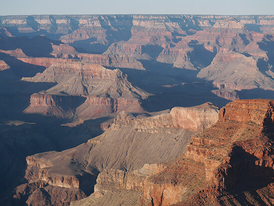 The unimaginable Grand Canyon landscape (Image: Alexandra Gregg)
