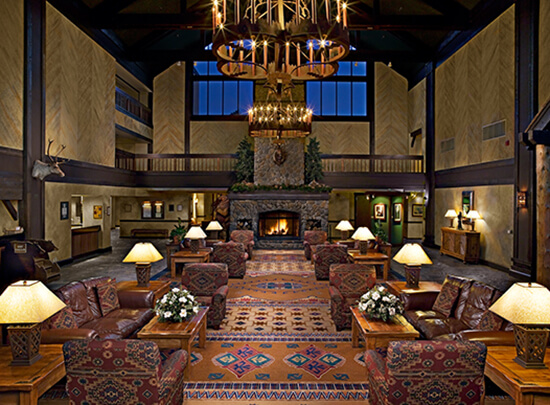 Tenaya Lodge lobby