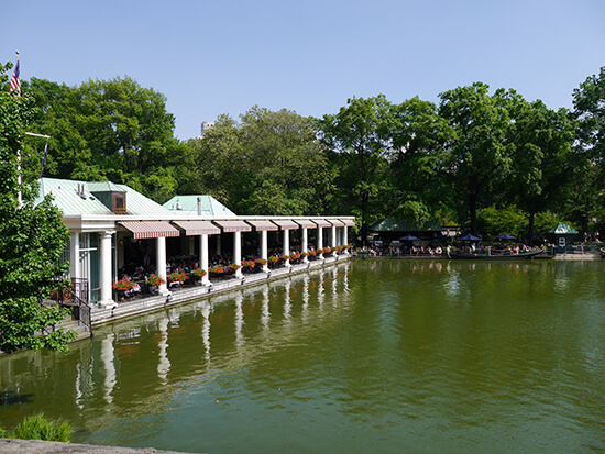 Loeb Boathouse, Central Park (Image: Alexandra Gregg)