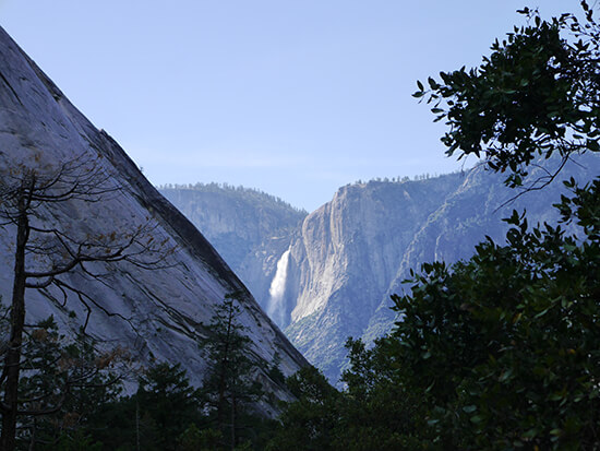 Nevada Falls in the distance (Image: Alexandra Gregg)