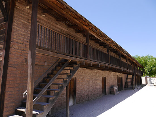 The servants quarters in Sonoma State Historic Park (image: Alexandra Gregg)