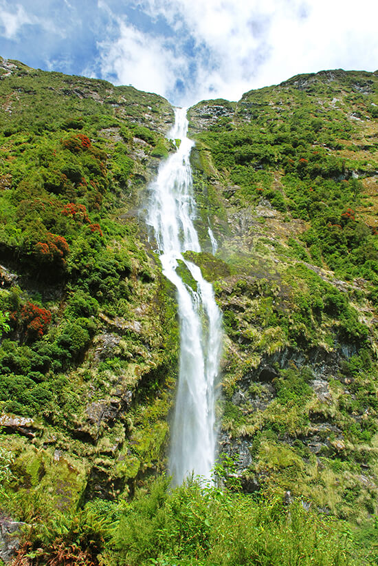 Sutherland Falls, South Island, New Zealand