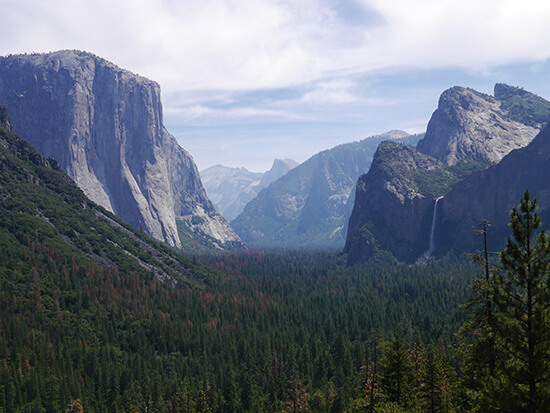 Yosemite Valley from Tunnel View (Image: Alexandra Gregg)