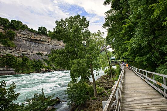White Water Walk (image: Niagara Falls)