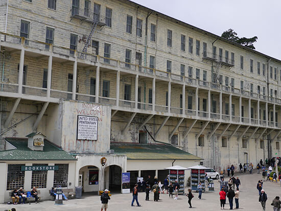 Alcatraz (image: Alexandra Gregg)
