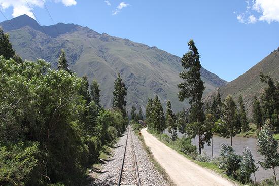 Hiram Bingham tracks