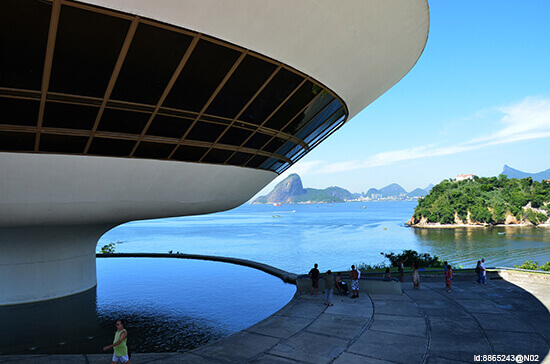 Museum of Contemporary Art, Rio, Brazil
