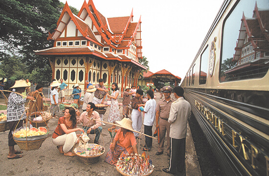 The Eastern and Oriental Express in Hua Hin, Thailand
