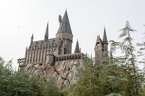 The Hogwarts Castle at the Wizard World of Harry Potter, Universal Studios Florida