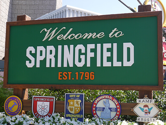 Welcome to Springfield! (image: Alexandra Gregg)