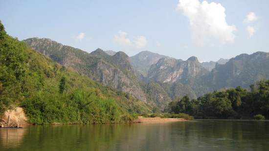 Nong Khiaw scenery (image: Angela Griffin)