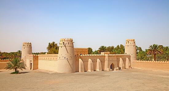 A fort at Al Ain, Abu Dhabi