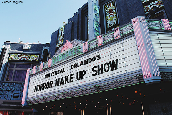 Horror Make-Up Show sign (image: Flickr)