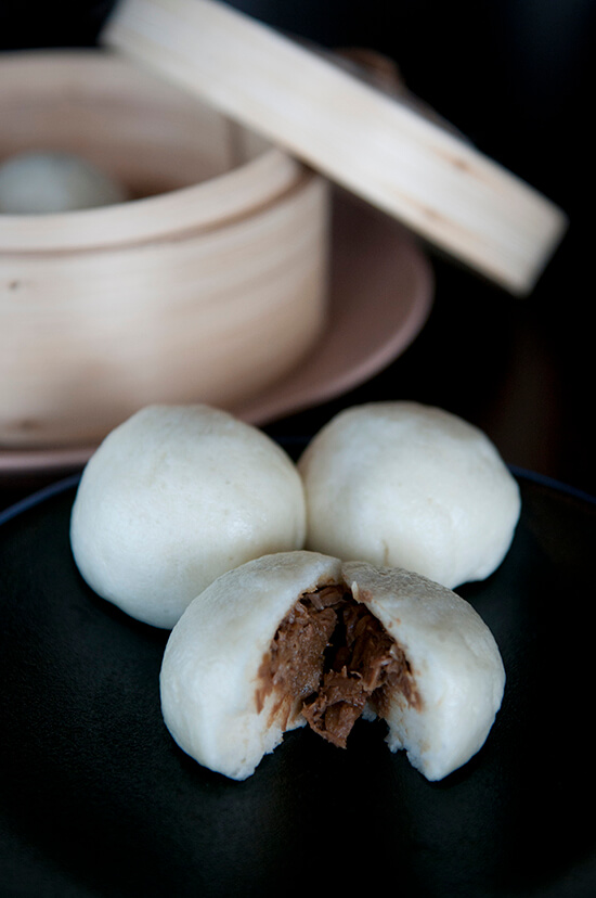 Madame Wu duck buns