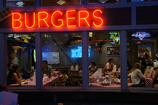 A burger joint in Fort Worth. Image: Lauren Burvill