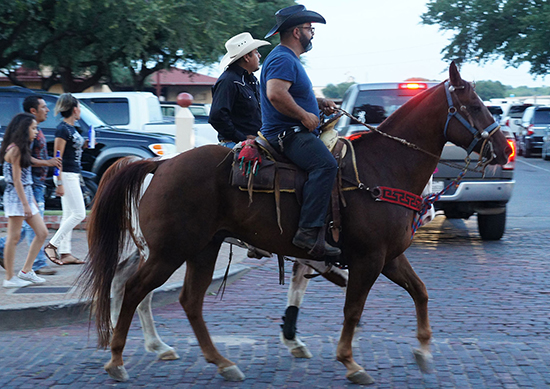 Cowboys at the Stockyards