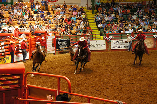 Inside the Stockyards Rodeo