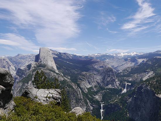 Yosemite from Glacier Point (image: Alexandra Gregg)