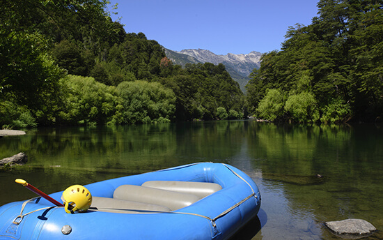 Rafting in Patagonia
