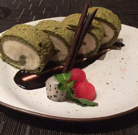 Green Tea Maki macadamia ice-cream (image: Tessa Watkins)