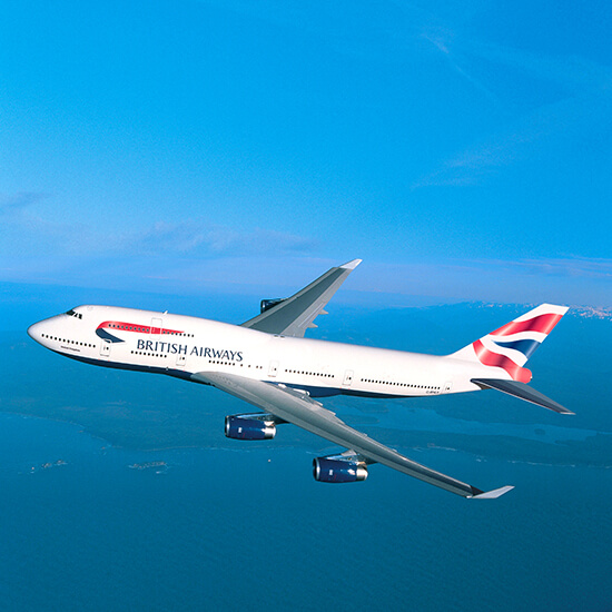 British Airways has great sustainability objectives