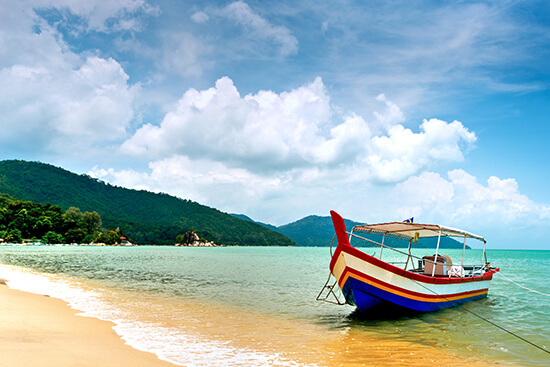 A beach in Penang