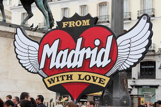 Puerta del Sol sign (image: Claus Gurumeta)