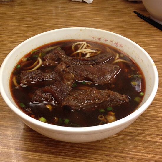 Beef noodle soup (image: Claus Gurumeta)