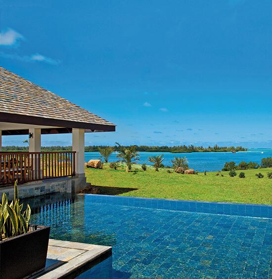 Sea-view Villa with private pool at Anahita