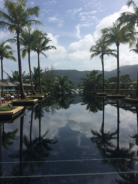 The Andara pool (image: Tess Watkins)