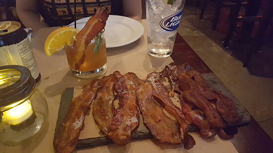BarBacon tasting platter (image: Bradley Cronin)