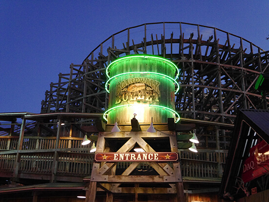 The Boardwalk Bullet, Kemah Boardwalk, Houston (image: Alexandra Gregg)