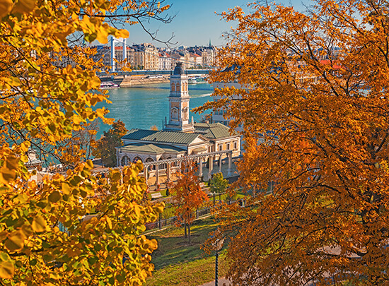 Budapest in the autumn