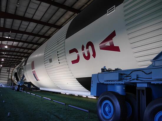 The mighty Saturn V (image: Alexandra Gregg)