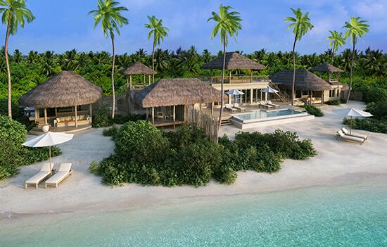 Six Senses Laamu, Two-Bedroom Ocean Beach Villa with Pool