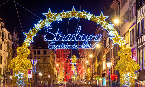 Strasbourg at Christmas