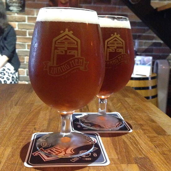 Taipei beer (image: Claus Gurumeta)