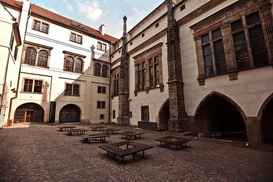 The museum in the Prague Castle