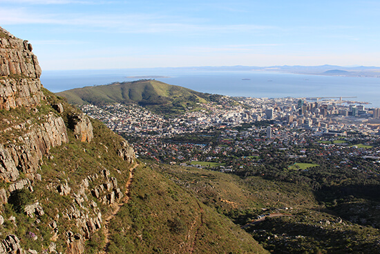 View from Table Mountain (image: Tom Grapes)